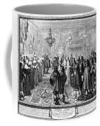 Marriage Contract, 1645 Coffee Mug