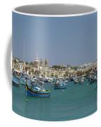 Marsaxlokk Harbour Coffee Mug