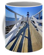 Marshal Point Lighthouse Walkway Coffee Mug