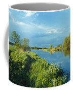 Marshlands In Spring, Unteres Odertal Coffee Mug