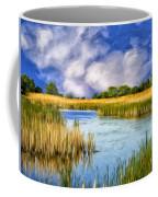 Marshlands On Isle Of Palms Coffee Mug