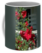 Martha's Vineyard Red Hibiscus And Porch Coffee Mug