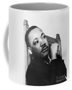 Martin Luther King, Jr Coffee Mug by Photo Researchers