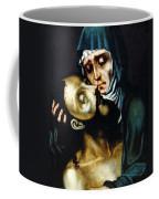 Mary And Jesus Painting At Peace Center Coffee Mug