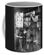 Mary Loomis, Radio School Operator Coffee Mug by Science Source