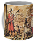 Mary Read And Anne Bonny, 18th Century Coffee Mug