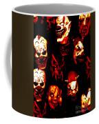 Masks Of Fear Coffee Mug
