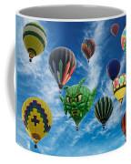 Mass Hot Air Balloon Launch Coffee Mug