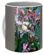 Mauve Hydrangea In Fall  Coffee Mug