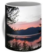 May Sunset On Kootenay Lake Coffee Mug