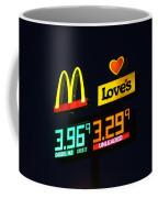 Mcdonalds Loves Gas Coffee Mug