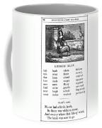 Mcguffeys Reader, 1853 Coffee Mug
