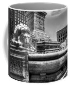 Mckinley Memorial In Black And White Coffee Mug