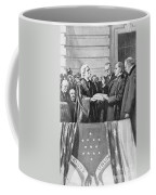 Mckinley Taking Oath, 1897 Coffee Mug