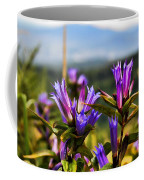 Meadow And Mountains Coffee Mug