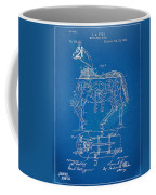Mechanical Horse Toy Patent Artwork 1893 Coffee Mug by Nikki Marie Smith