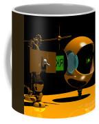 Mechanical Oculist Green Coffee Mug