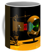 Mechanical Oculist Red Coffee Mug