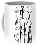 Medical Instruments, 18th Century Coffee Mug