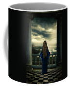 Medieval Lady Watching The Sea Coffee Mug