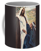 Meeting Of Jesus And Martha Coffee Mug