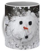 Melting Snowman Coffee Mug