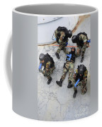 Members Of The Greek Navy Practice Coffee Mug