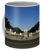 Memorial Plaza Of The World War II Coffee Mug by Richard Nowitz