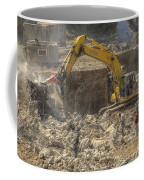 Men At Work Construction Site Coffee Mug