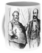 Men Drinking, 1872 Coffee Mug