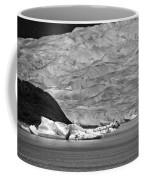 Mendenhall Glacier Bw Coffee Mug