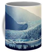 Mendenhall Glacier On A Foggy Morning Coffee Mug