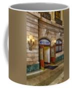 Mens Room Coffee Mug
