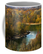 Meramec River Bend At Castlewood State Park Coffee Mug
