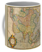 Mercators Map Of Asia Coffee Mug