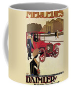 Mercedes Ad, C1914 Coffee Mug