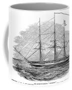 Merchant Steamship, 1844 Coffee Mug