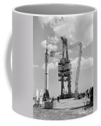 Mercury-redstone 3 Prelaunch Activities Coffee Mug