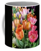 Merry Dresden Style Tulips Coffee Mug