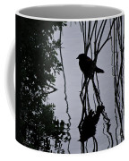 Messy Pond Reflection  Coffee Mug