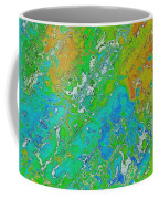 Messy Thick Paint Coffee Mug