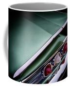 Metalic Green Impala Wing Vingage 1960 Coffee Mug