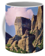 Meteora Greece Coffee Mug