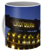 Metro Sign. Paris. France Coffee Mug