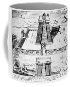 Mexico: Aztec Temple, 1765 Coffee Mug by Granger