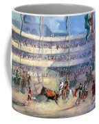 Mexico: Bullfight, 1833 Coffee Mug