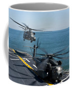 Mh-53e Sea Dragon Helicopters Take Coffee Mug by Stocktrek Images