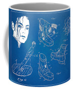 Michael Jackson Anti-gravity Shoe Patent Artwork Coffee Mug by Nikki Marie Smith