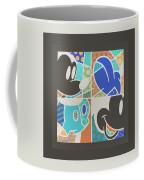 Mickey In Negative Coffee Mug