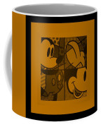 Mickey In Orange Coffee Mug